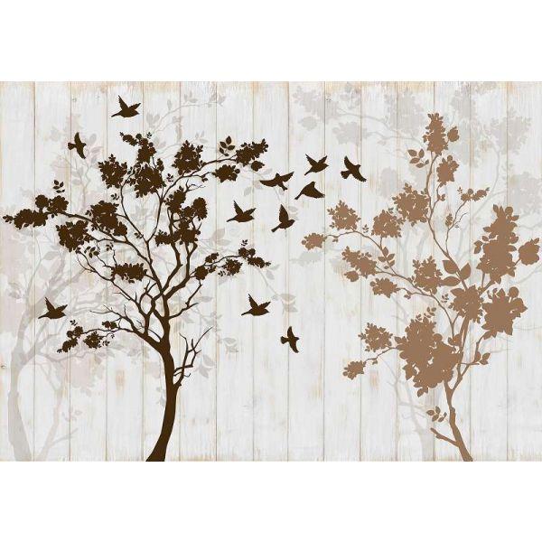 Fototapet decorativ  3D - Copacul vietii - 368x254cm / Vlies