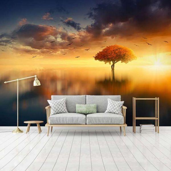 Fototapet decorativ - Toamna - 368x254cm/Vlies