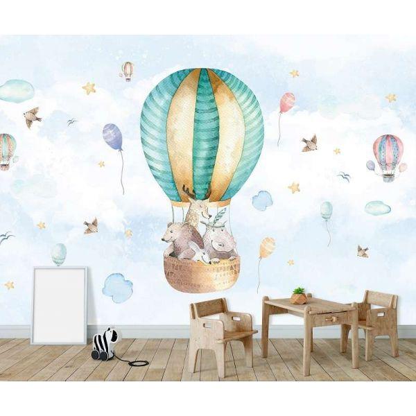 Fototapet pentru copii - Cu Balonul - Vlies/ 368X254/4p.