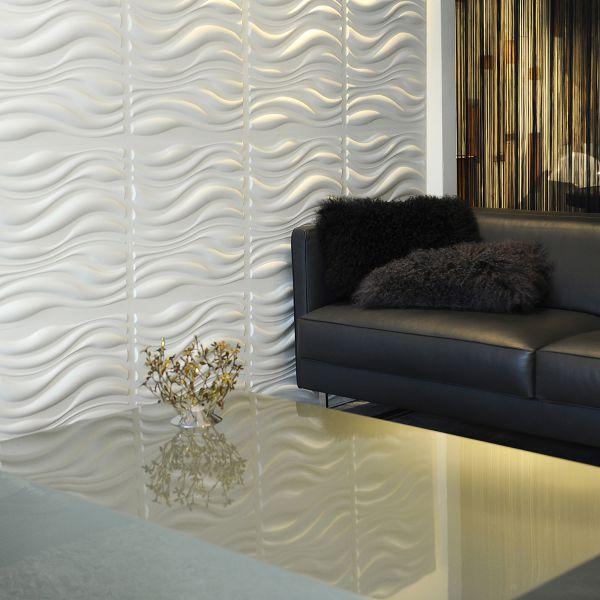 Panouri decorative 3D -WAVES