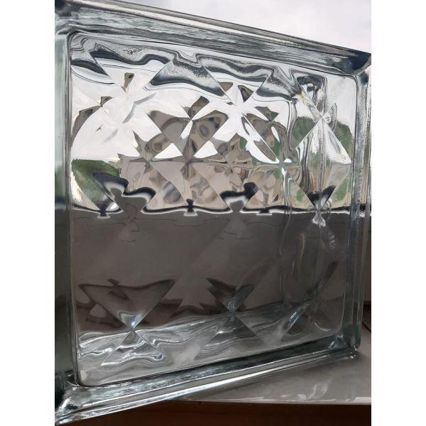 Caramida sticla luminoasa - Verde