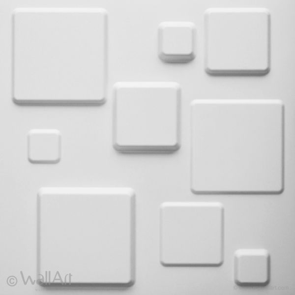 Panouri decorative 3D - SQUARES