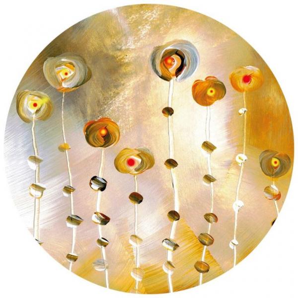 Fototapet decorativ abstract - ROTUND - 140/140CM Vlies