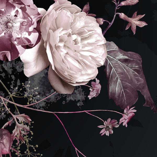 Fototapet floral - Buchet de trandafiri - 200x 250cm/4p./Vlies