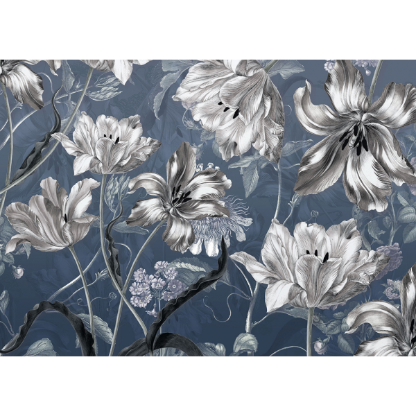 Fototapet decorativ -Dansul florilor - 350x250cm/ 7p.Vlies