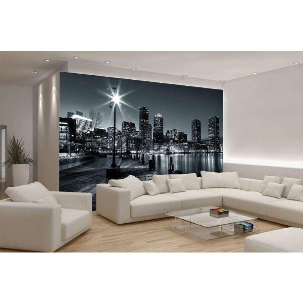 Fototapet decorativ   3D - URBAN 2 - 368x254cm/4p/ VLIES