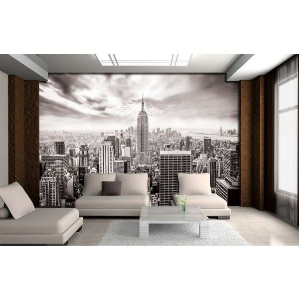 Fototapet decorativ  - De la fereastra - 368x254cm/4p/Vlies